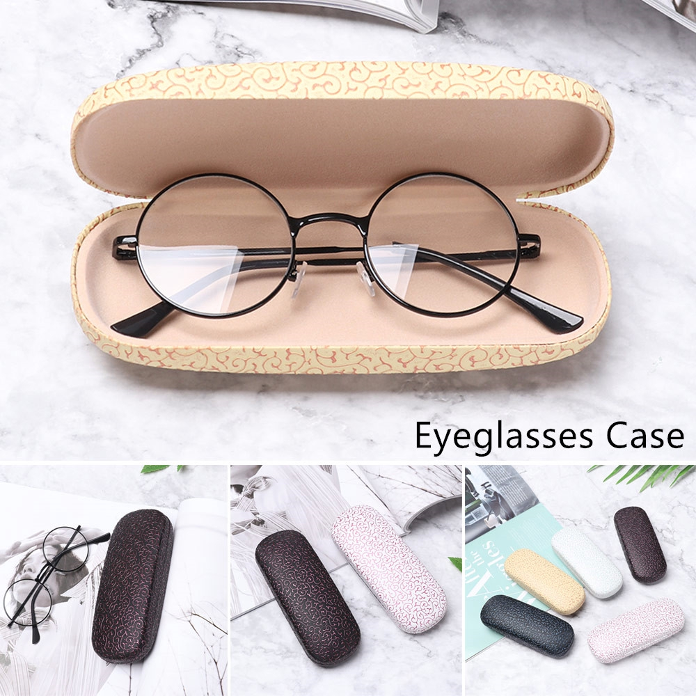 🎉ONLY🎉 Travel Pack Portable Eyeglasses Accessories Dragon Pattern Hard Frame Glasses Box