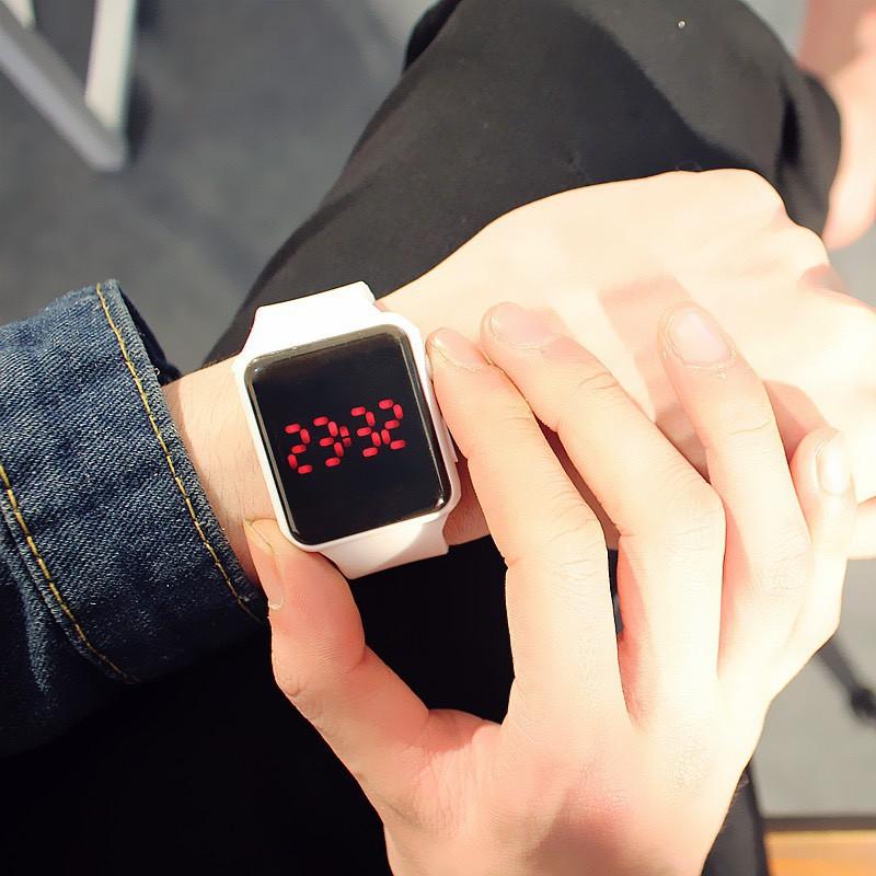 Đồng hồ  nam nữ Led phong cách Hàn DH71