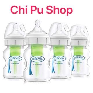 Bình sữa Dr.Brown Cổ rộng (150ml-270ml) Cổ hẹp (120ml-240ml)