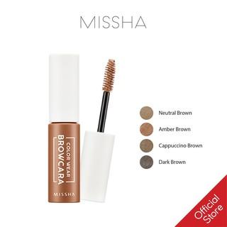 Mascara đổi màu và định dạng chân mày Missha Color Wear Browcara 7.5g thumbnail