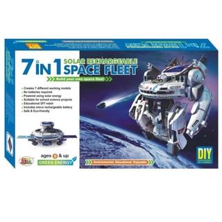 Bộ lắp ráp robot không gian 7 in 1 năng lượng mặt trời (220) hanglegiasi3721