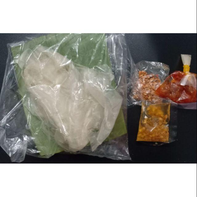 5 Bịch Bánh Tráng satế tỏi