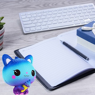 Slow Rising Squishy Toys, Kawaii Cartoon Cat Cream Scented-K28