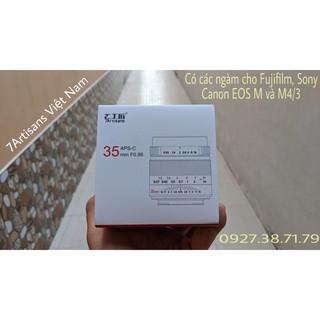 (CÓ SẴN) Ống kính 7Atisans 35mm F0.95 cho APS-C : Fujifilm – Sony – Canon EOS M và M4/3