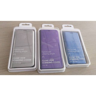 Bao da Clear View Standing Cover S6 edge