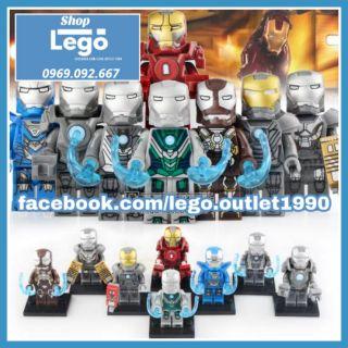Xếp hình tuyển tập Iron Man Lego Minifigures Xinh X0253 siêu rẻ thumbnail