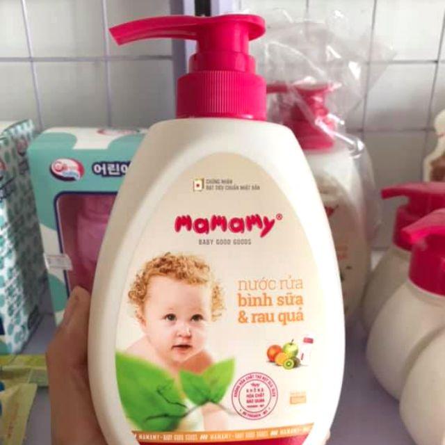 Nước rửa bình sữa Mamamy cho bé