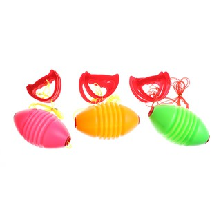 SUN11❤❤ Kids Fitness Toy Ball Interaction Pull Shuttle 2 Person Workout