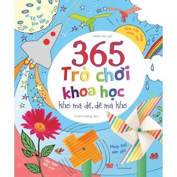 Sách 365 trò chơi khoa học-150