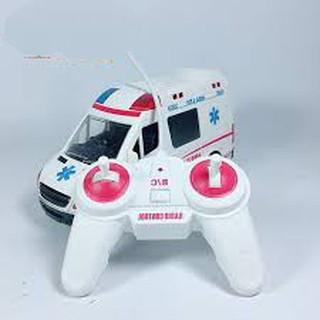 Xe cứu thương điều khiển dùng pin sạc cao cấp