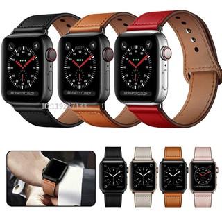 Dây đeo Apple Watch Strap 38/40mm 42/44mm Dây da cho iWatch Series SE 6/5/4/3/2/1