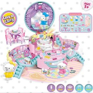 [Mẫu mới] Mô hình nhà Hello Kitty hiện đại