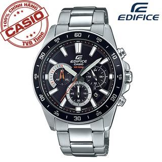 Đồng hồ nam dây kim loại Casio Edifice chính hãng Anh Khuê EFV-570D-1AVUDF