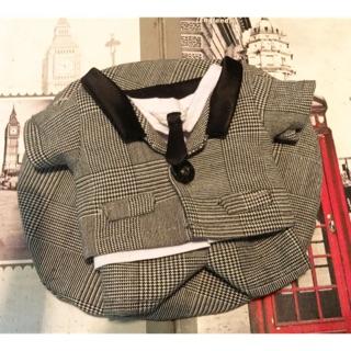 Set áo quần vest có cà vạt-20cm và 15cm