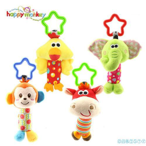 NRI-NO.1 Cute baby toy educational newborn mobile rattles baby stroller hanging