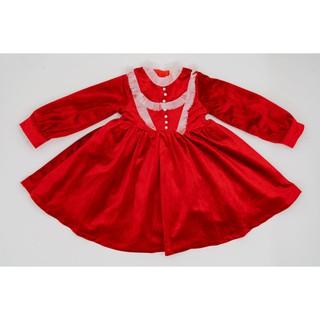 Váy Nhung Công Chúa Cho Bé Gái Crown Space Cao Cấp CKGL6810203 Size 14 - 25Kg