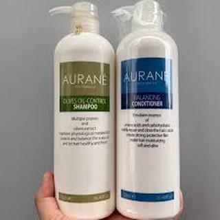 aurane_chính_hãng Cặp gội xả dành cho tóc dầu OLIVES OIL-CONTROL AURANE thumbnail