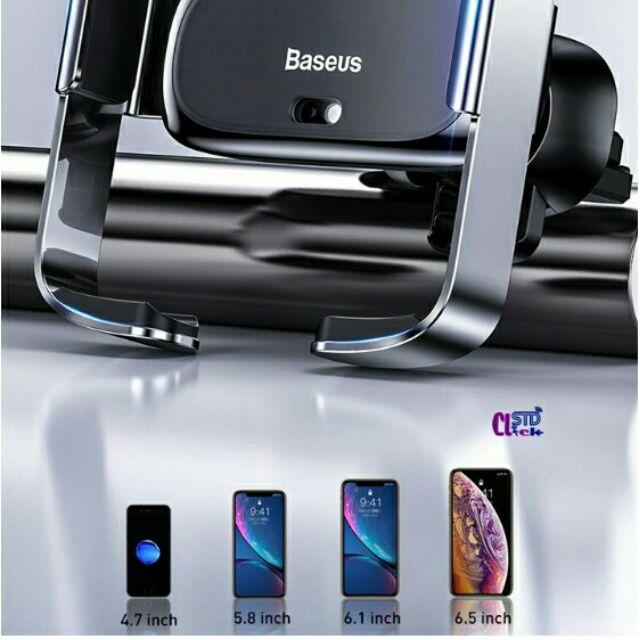 Giá đỡ OTO Baseus mini kiêm sạc không dây đa năng Electric Smart