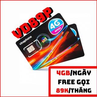 Sim 4G Vinaphone Vd89P – 4GB/NGÀY – 120GB DATA – MIỄN PHÍ GỌI – SIM NGỌC MAI