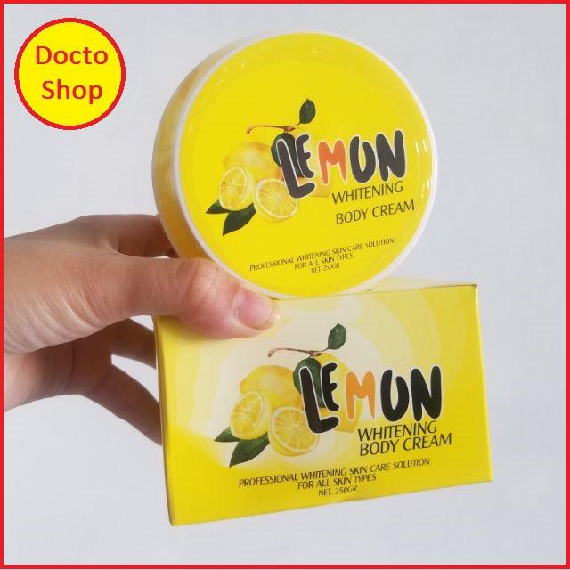 Kem Kích Trắng Body Lemon Chính Hãng