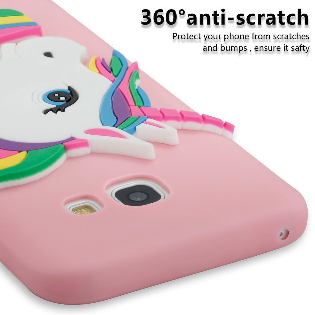 Ốp lưng mềm họa tiết kì lân cho Samsung A8 Plus A3 / A310 2016 A5 / A510 A3 2016...