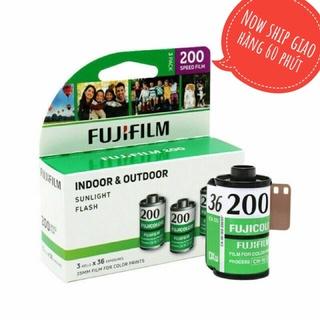 Fuji C200 36 tấm date 2023 loại 1 hộp có 3 cuộn fujifilm ISO 200