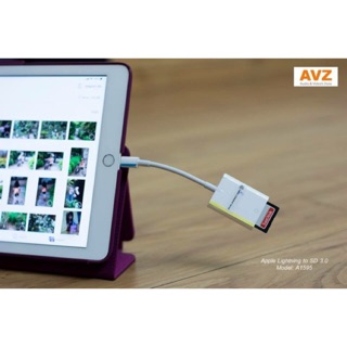 Đầu đọc thẻ Apple Lightning to SD 3.0 (A1595)?