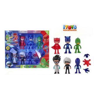 Set 6 nhân vật PJ mask