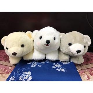 Amuse – Bộ 3 em gấu Marukuma 3 màu