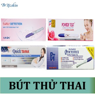 Dòng Bút Thử Thai Nhanh Early Detection - Quicktick - Quicktana Midstream - Power Test Hộp 1
