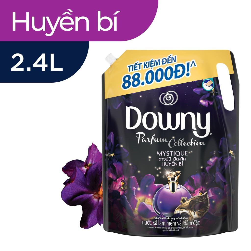 Downy Xả vải Túi 2.4L Hương Nước Hoa (mới)