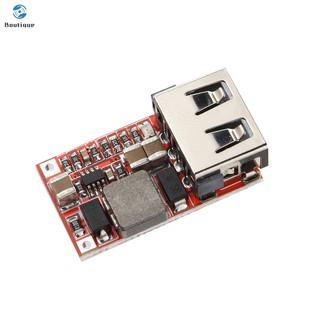 Mô đun hạ áp mini DC-DC 6-24V 12V 24V thành 5V đầu ra USB 3A