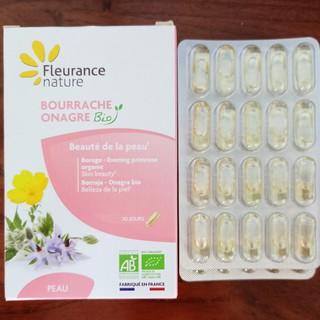 Viên hoa anh thảo hữu cơ Fleurance nature