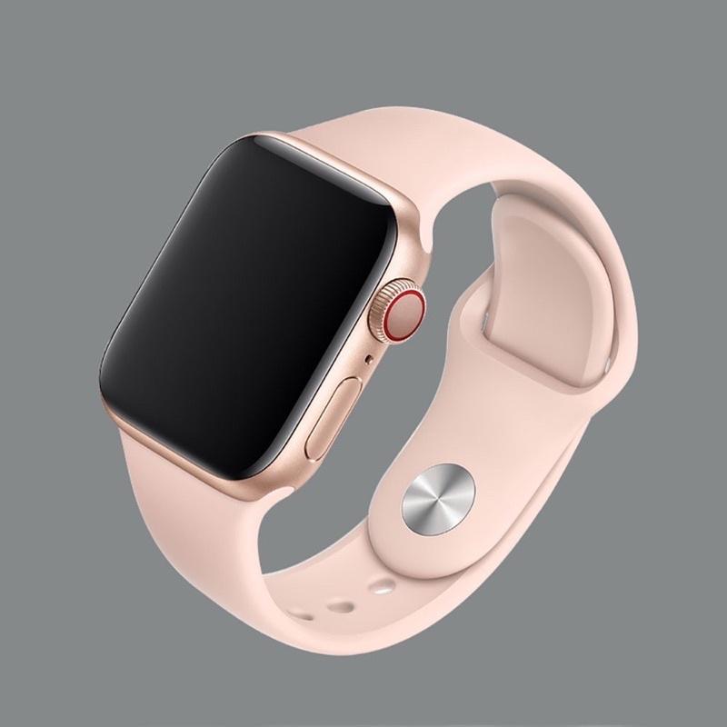 Dây đeo Apple Watch cao su cao cấp [CHỐNG BẨN] [ĐỦ SIZE 38 40 42 44]