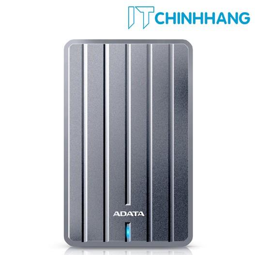 Ổ cứng gắn ngoài ADATA 1TB - HC660 - Xám - HÃNG PHÂN PHỐI CHÍNH THỨC