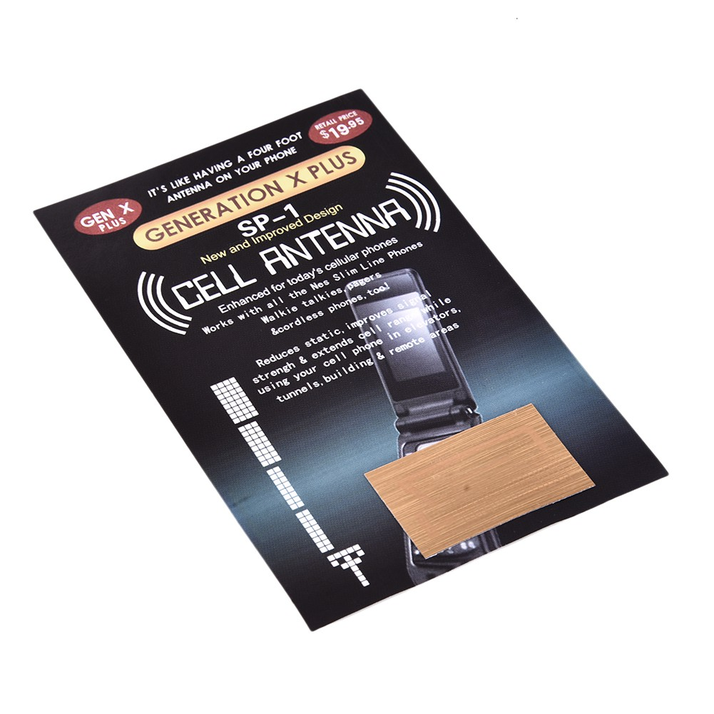 10 x New Cell Phone Signal Boosters - The Latest SP-1 Antenna GENERATION X PLUS