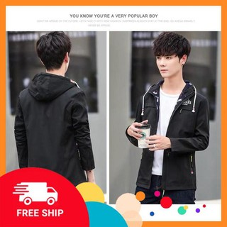 [ FREE SHIP ] Áo khoác kaki NAM 2 lớp