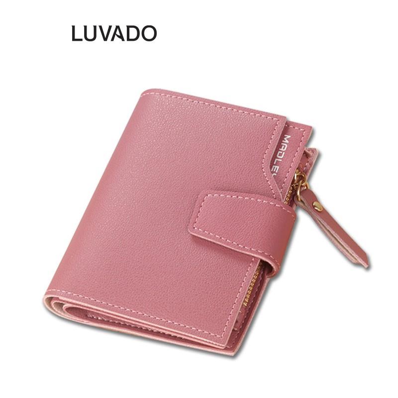 Ví nữ mini cute đẹp cầm tay MADLEY thời trang cao cấp nhỏ gọn bỏ túi LUVADO VD395