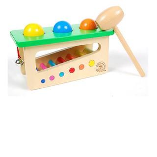 [XẢ KHO GIÁ RẺ] Đồ chơi hộp đập bóng rung chuông cho bé