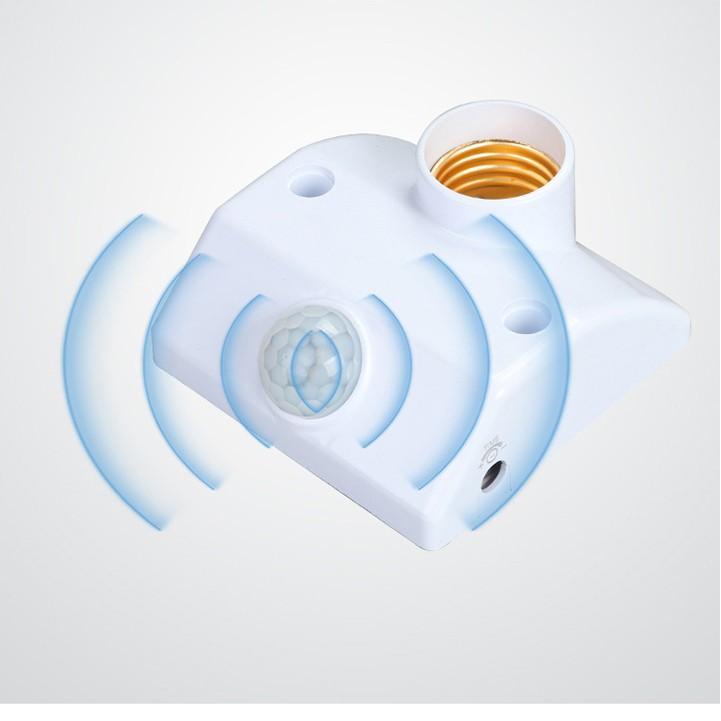 Đui đèn cảm ứng chuyển động hồng ngoại, chuẩn E27