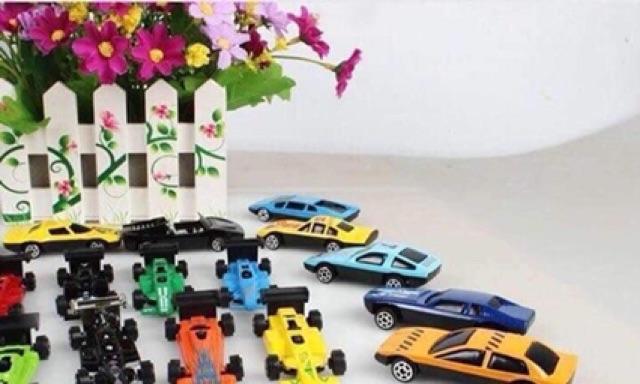 Bộ 50 Ô Tô đồ chơi cho bé