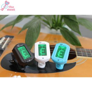 ENO ET-33 Mini Clip-on Guitar Tuner Digital LCD Chromatic Guitar Bass Violin Ukulele Chromatic Bass