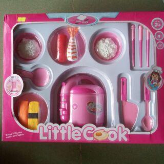 Hộp đồ chơi nấu cơm làm sushi MS 5541-2