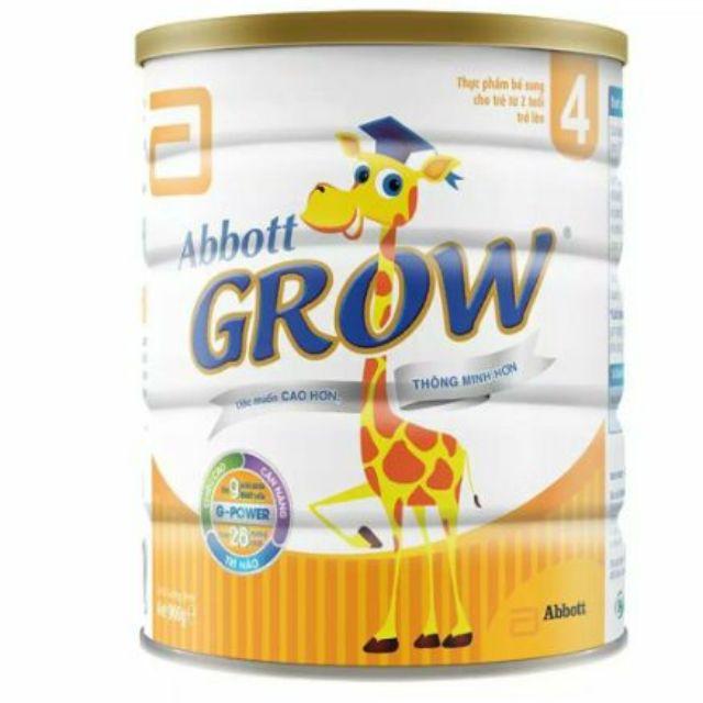 {Mã SUNTKB2 giảm 5%} Sữa bột Abbott Grow 4 Vani 1.7kg