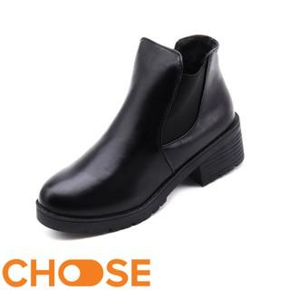 Giày Nữ GIÀY DA Choose NỮ THỜI TRANG BOOT BỐT NGẮN THỂ THAO GIÁ RẺ SINH VIÊN CÔNG SỞ G15K5 thumbnail