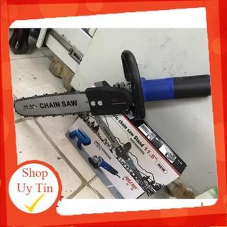 FREESHIP Bộ chuyển đổi máy mài góc thành máy cưa xích (Chain Saw 11.5″ – 300mm)