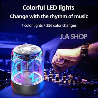 Loa Bluetooth Mini Led 7 Màu Trong Suốt Yayusi C7, Âm Hay Bass Cực Đỉnh Pin 600mAh, Bảo Hành 1 Đôi 1 thumbnail