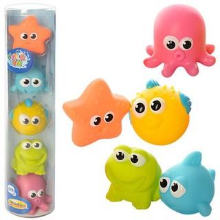 [HÀNG CHUẨN] Bộ đồ chơi nhà tắm Winfun (Hongkong) mã 7118 hoặc 7120 gồm 5 sinh vật biển cực HOT