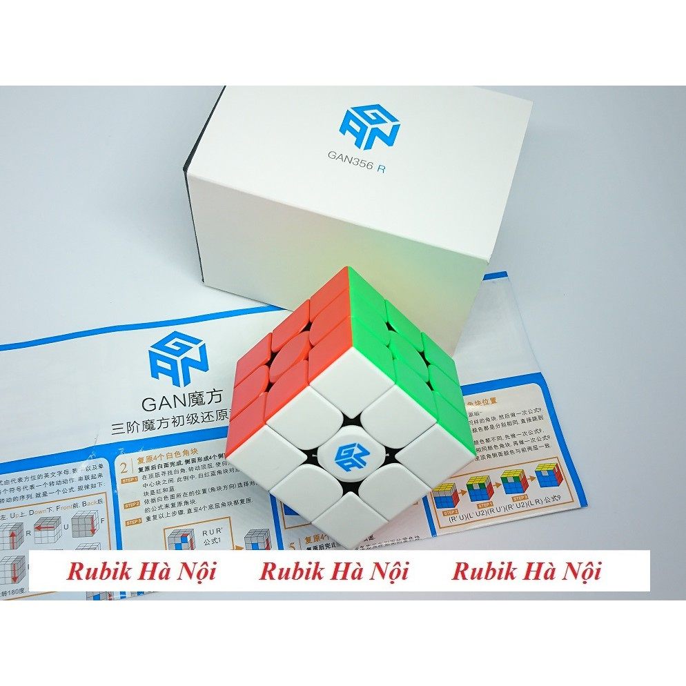 Rubik 3x3. Gan 356 RS 2020 Cao Cấp Stickerless/Có Nam Châm