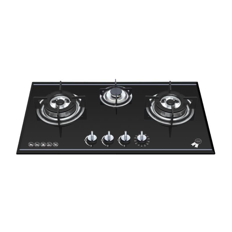 Bếp 3 Gas Malloca AS 930B (đen)